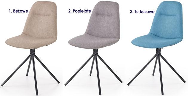 Efektowne krzesło do stołu, biurka Olsen