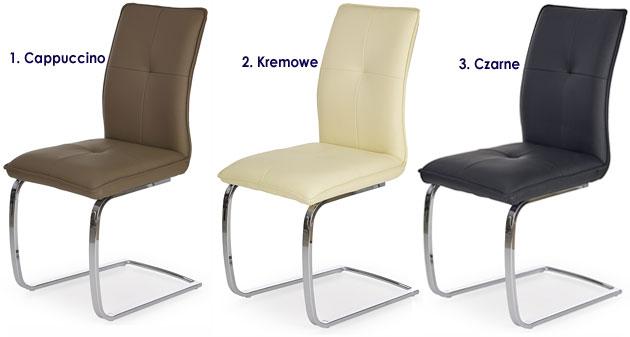 Tapicerowane krzesło sprężynujące Onter