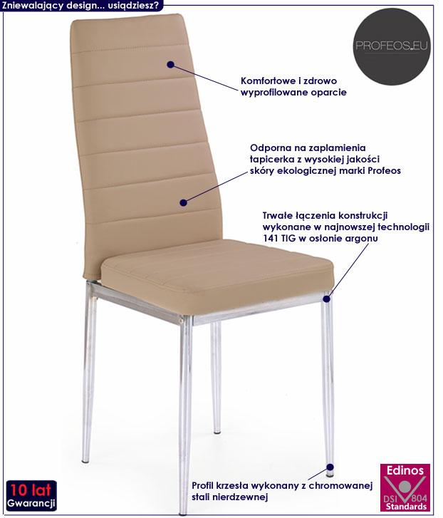 Kuchenne krzesło do stołu Perks