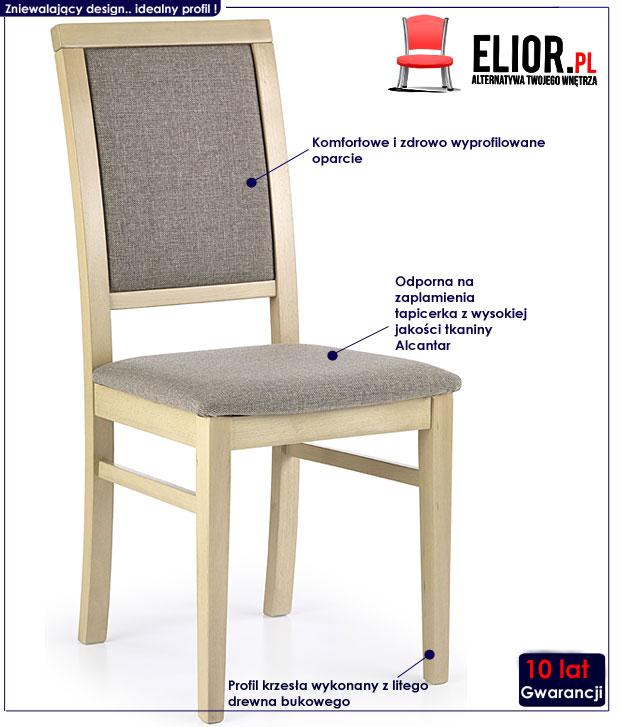 krzesło drewniane Prince