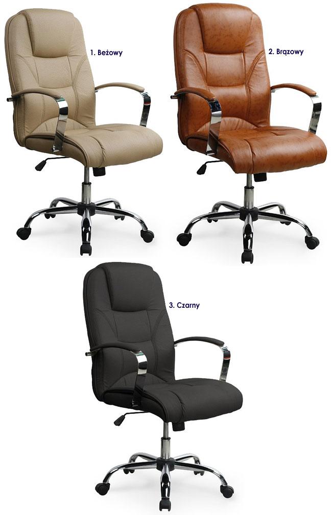 krzesło do komputera obrotowe biurowe fotel Ramir