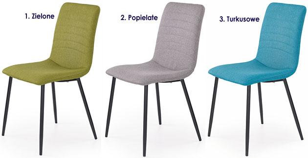 Nowoczesne krzesło tapicerowane do kuchni, jadalni Revis