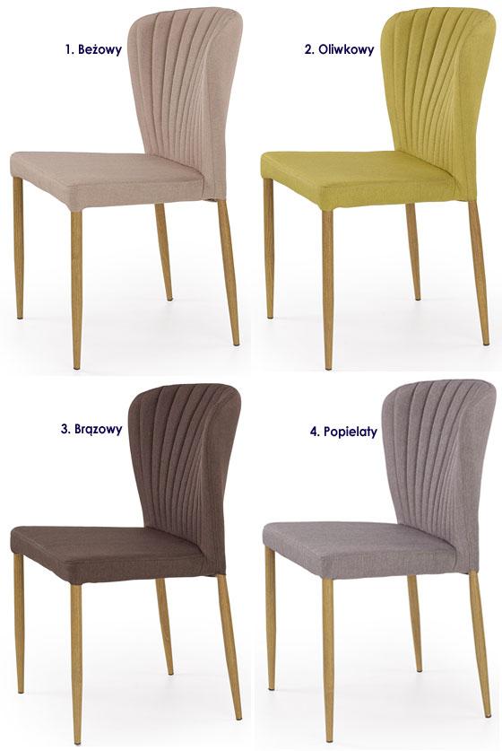 Nowoczesne krzesło do stołu Rexis