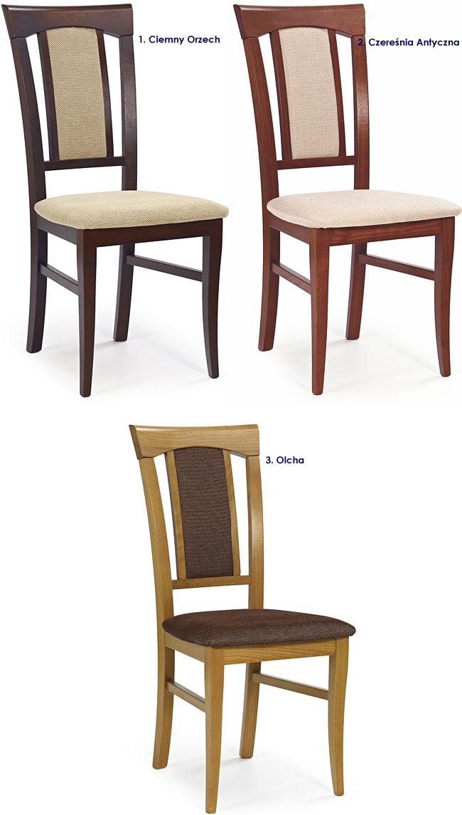 krzesło tapicerowane Rumer