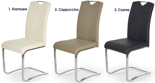 Tapicerowane krzesło kuchenne Ruten
