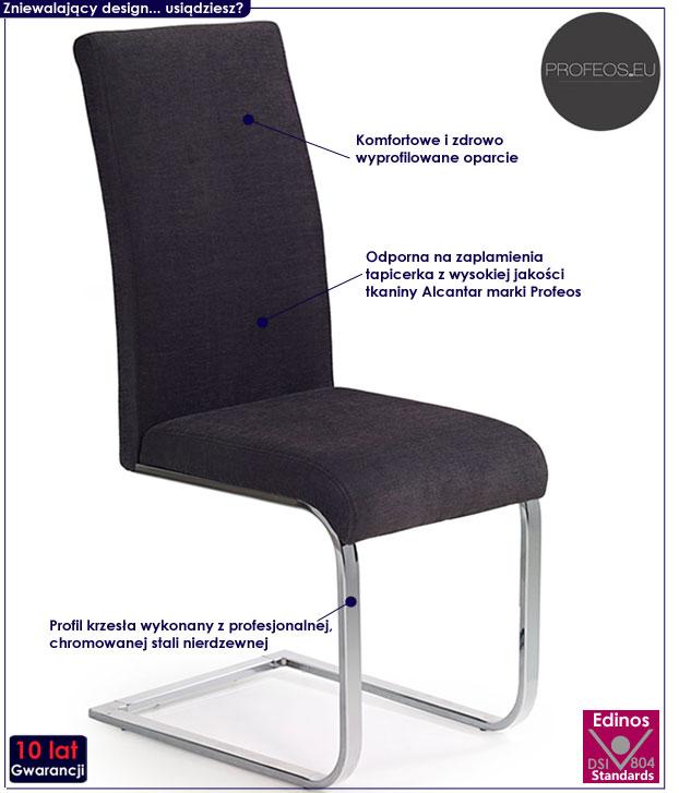 krzesło drewniane Santer