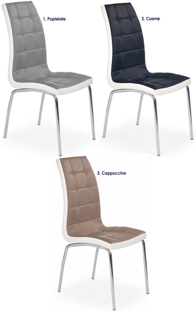 Pikowane krzesło do kuchni, salonu Spelter