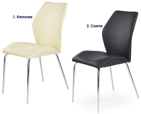 Tapicerowane krzesło kuchenne Tilon