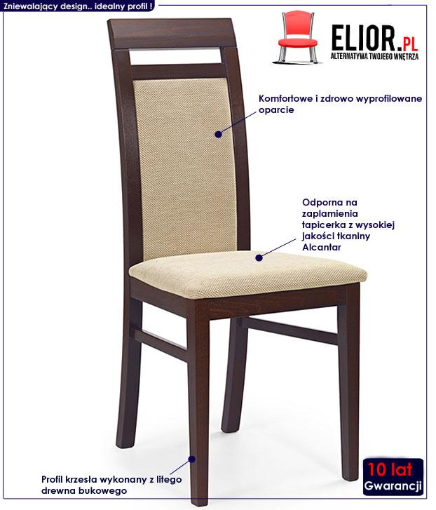 krzesło drewniane Tolen