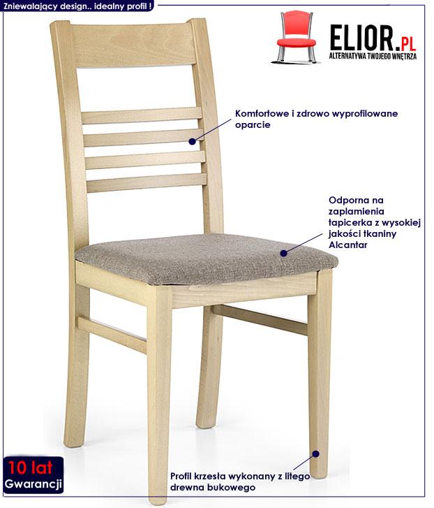 krzesło tapicerowane Umer