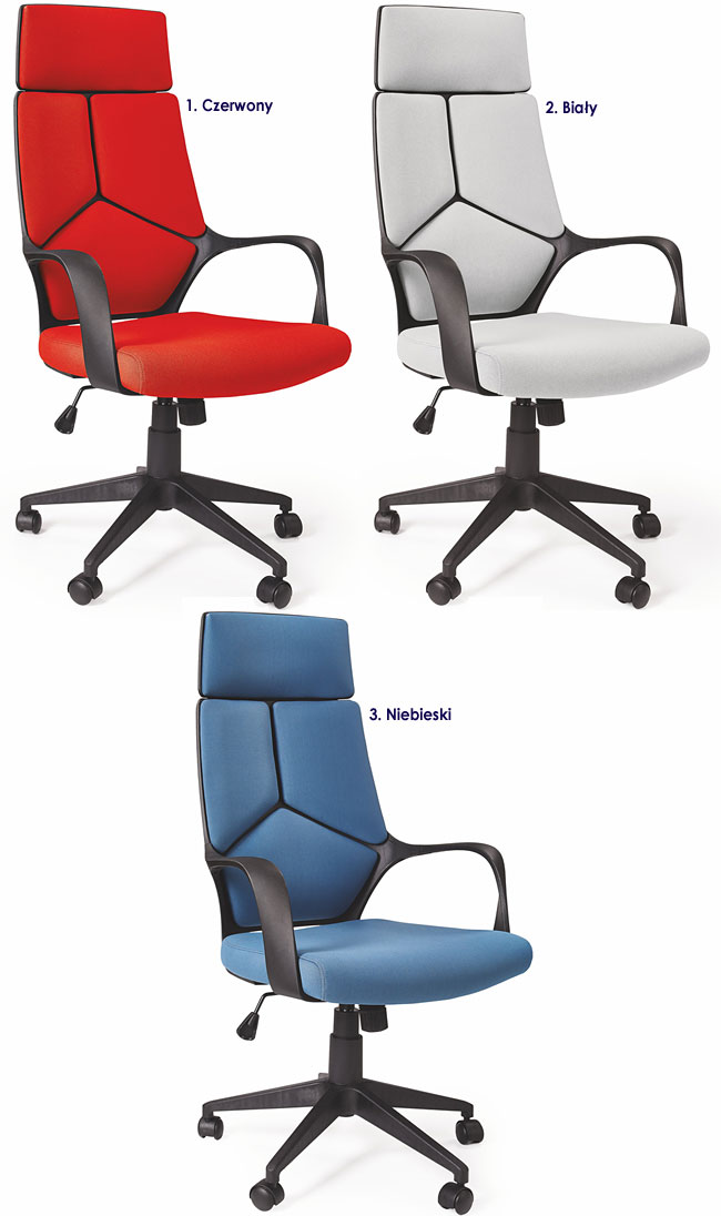 krzesło obrotowe fotel gabinetowy do komputera biurowy Viver