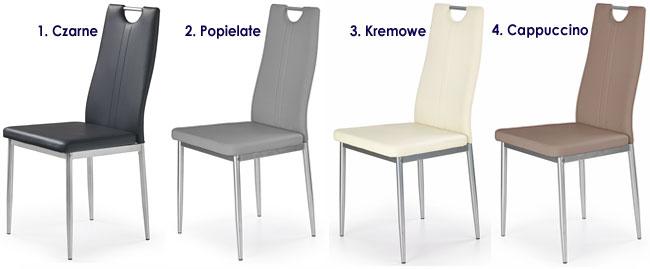 Tapicerowane krzesło do kuchni, salonu Vulpin
