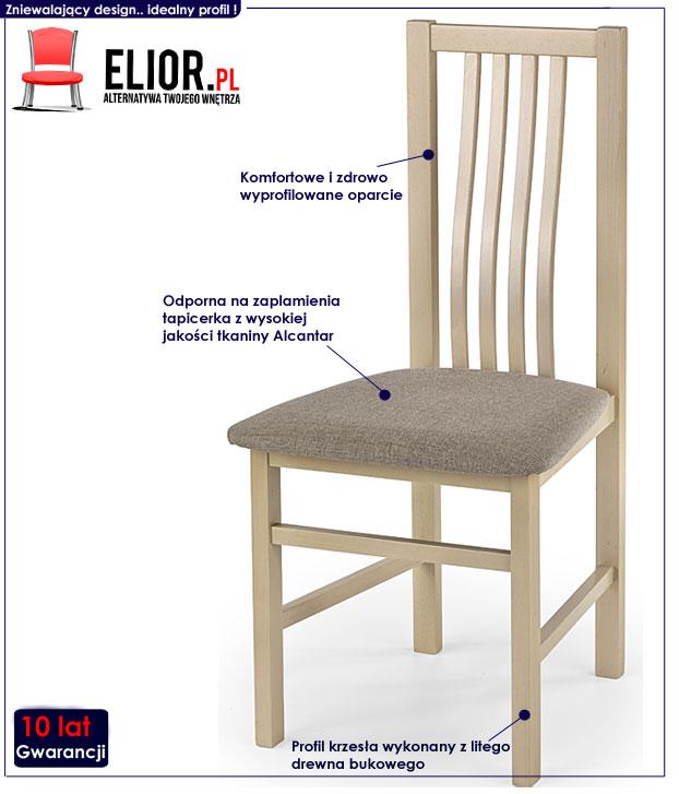 krzesło tapicerowane Weston