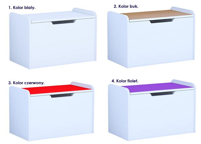 Kolory szafek dertis