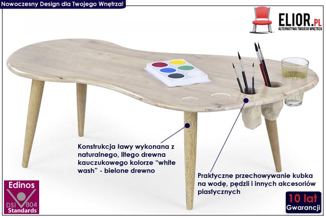 stolik dla dziecka do rysowania malowania Arisa