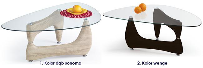 stolik kawowy do salonu dąb sonoma wenge Goja