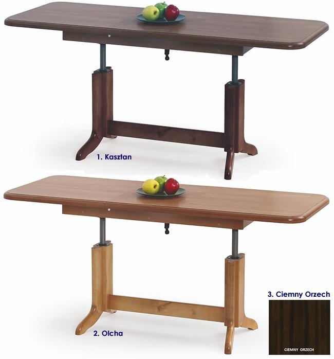 ława rozkładana stół podnoszony ławostół Laster orzech