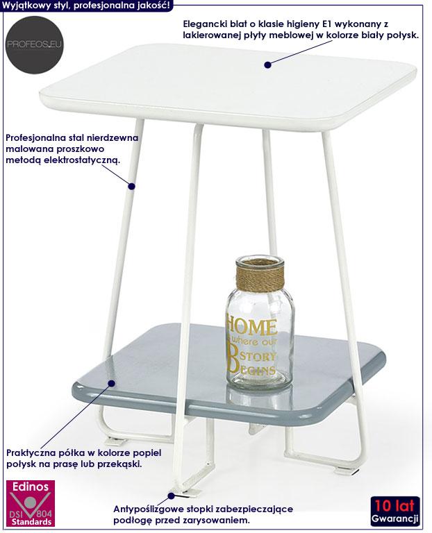 rozsuwany stolik kawowy ława szklana Tibia