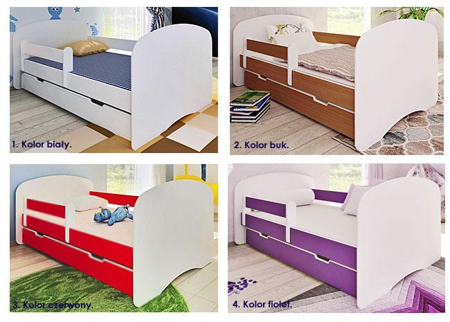 kolory łóżek dla dzieci