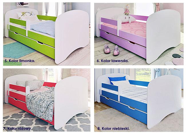 łóżka z szufladą dziecięce