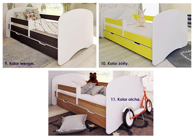 łóżko z materace dla dziecka