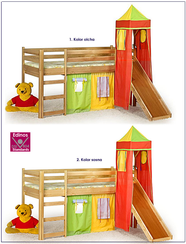 kolory łóżka