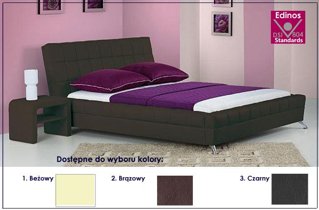 łóżko tapicerowane dolima
