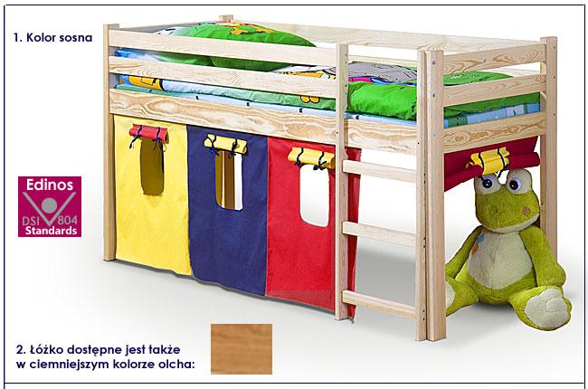 łóżko dla dzieci piętrowe