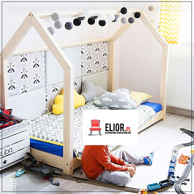 łóżko dziecięce drewniane