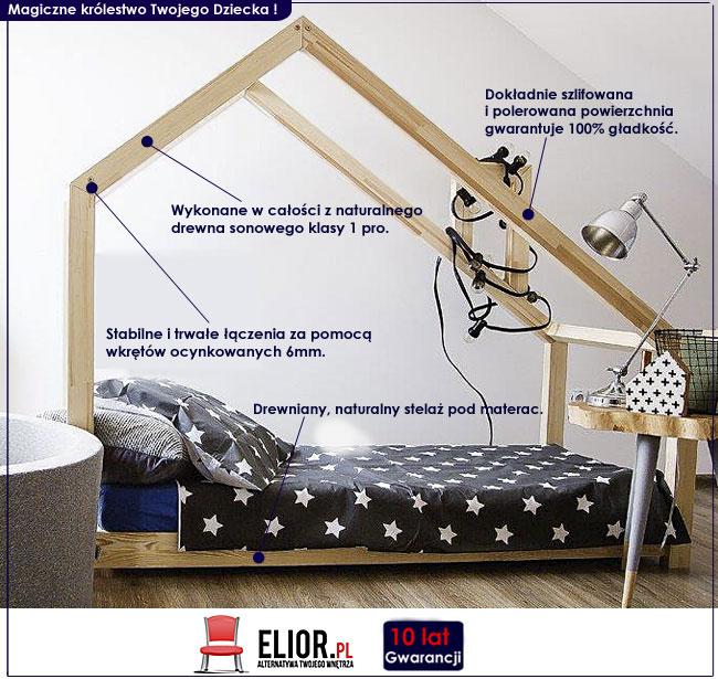 łóżko domek młodzieżowe