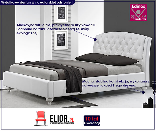 łóżko tapicerowane nexin