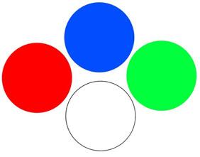 kolory oświetlenia LED