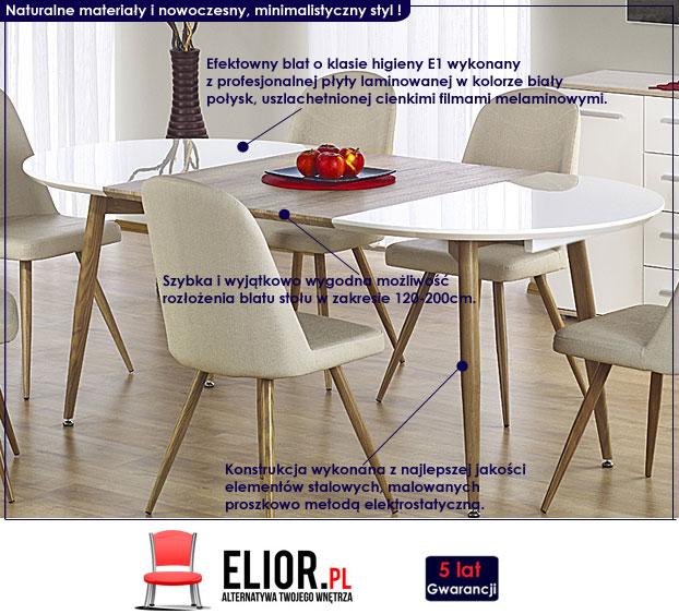 Rozkładany stół Ebis
