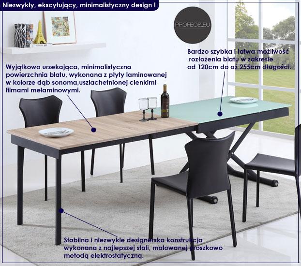 stół rozkładany Foresti