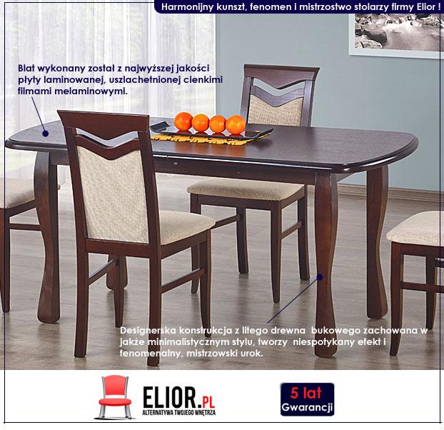 drewniany stół Hertes