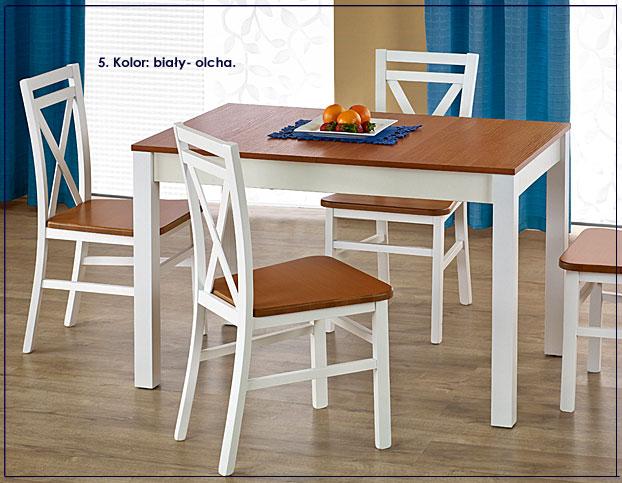 stół biały do kuchni Klaris