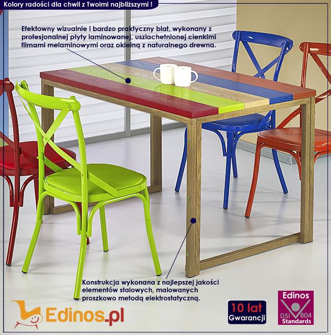 stół kolor
