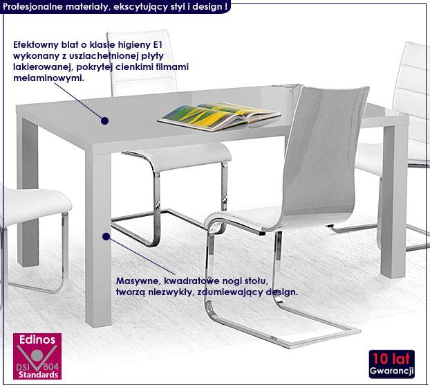 lakierowany stół Meltis