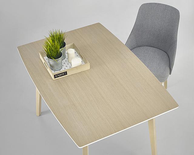 Stół petris drewniany - blat w kolorze sonoma.