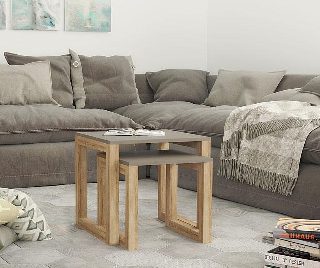 stolik drewniany cubis