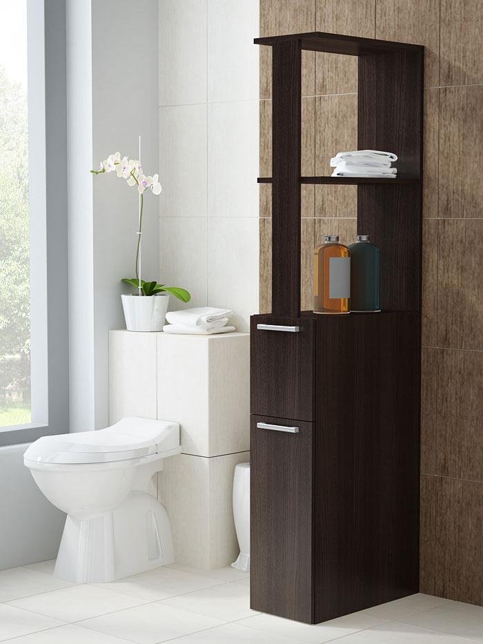 Szafka łazienkowa z szufladą wenge Viena