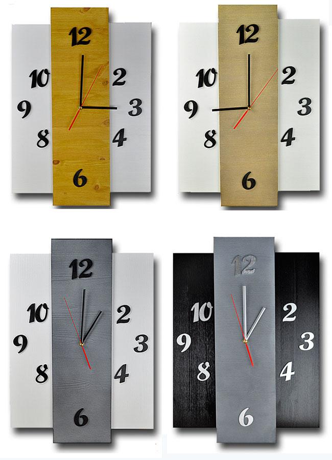 zegar ścienny skandynawski Liptos 7R